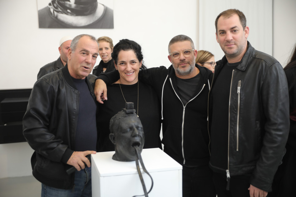 יוני פארן, אריק וייס, עידית פארן ודני פארן (צילום: רפי דלויה)