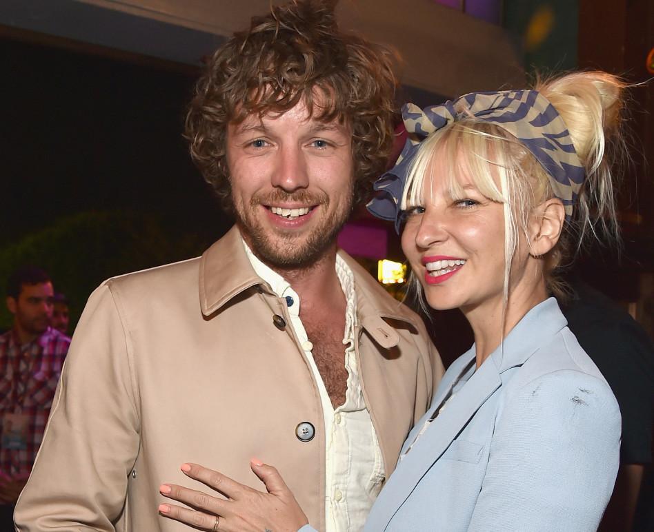 סיה ובעלה לשעבר (צילום: Getty images)