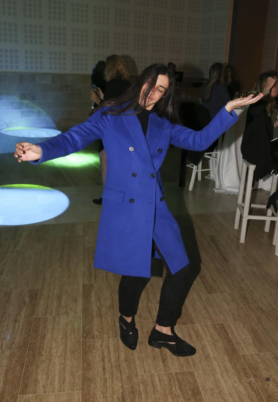מתקרחנת בריקודים. אבישג נגר (צילום: אלירן אביטל)