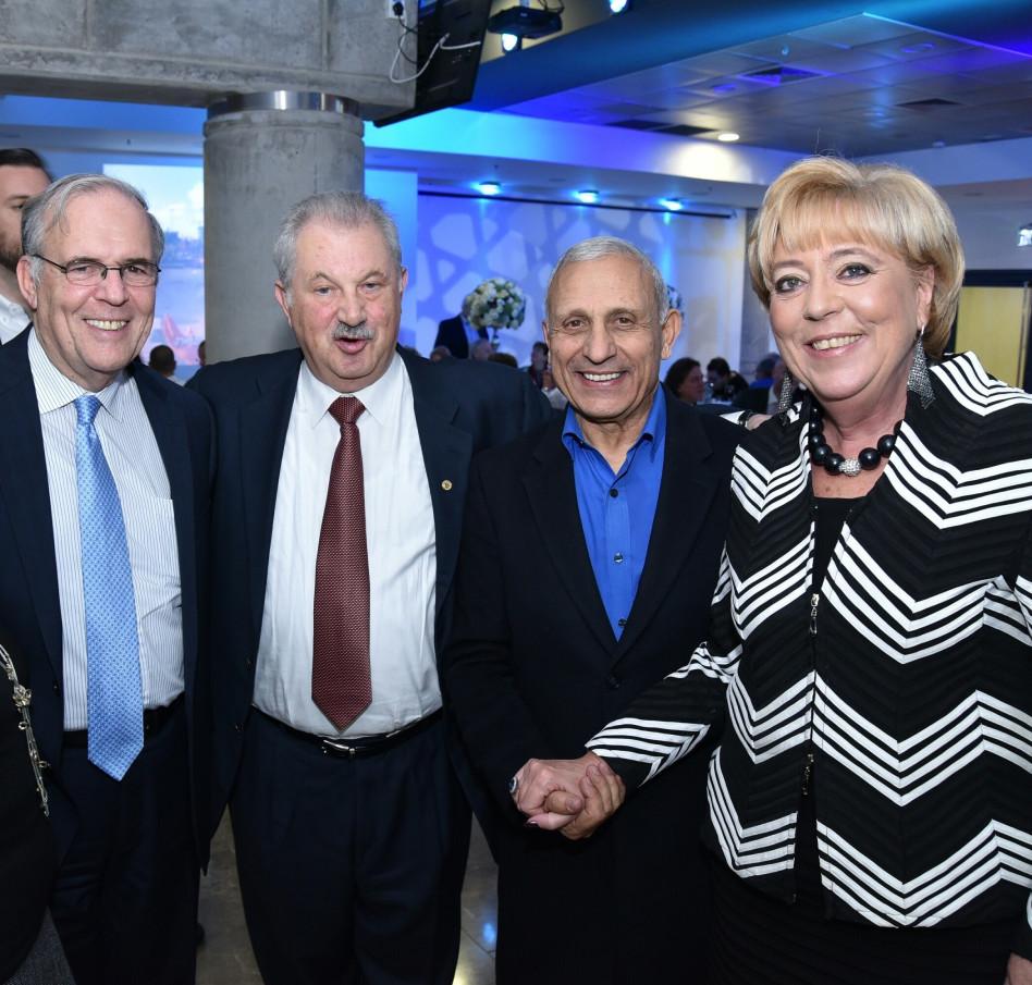 מרים פיירברג-איכר, איתן בן אליהו, פיל פרידמן ויהונתן הלוי (צילום: רן אליהו)