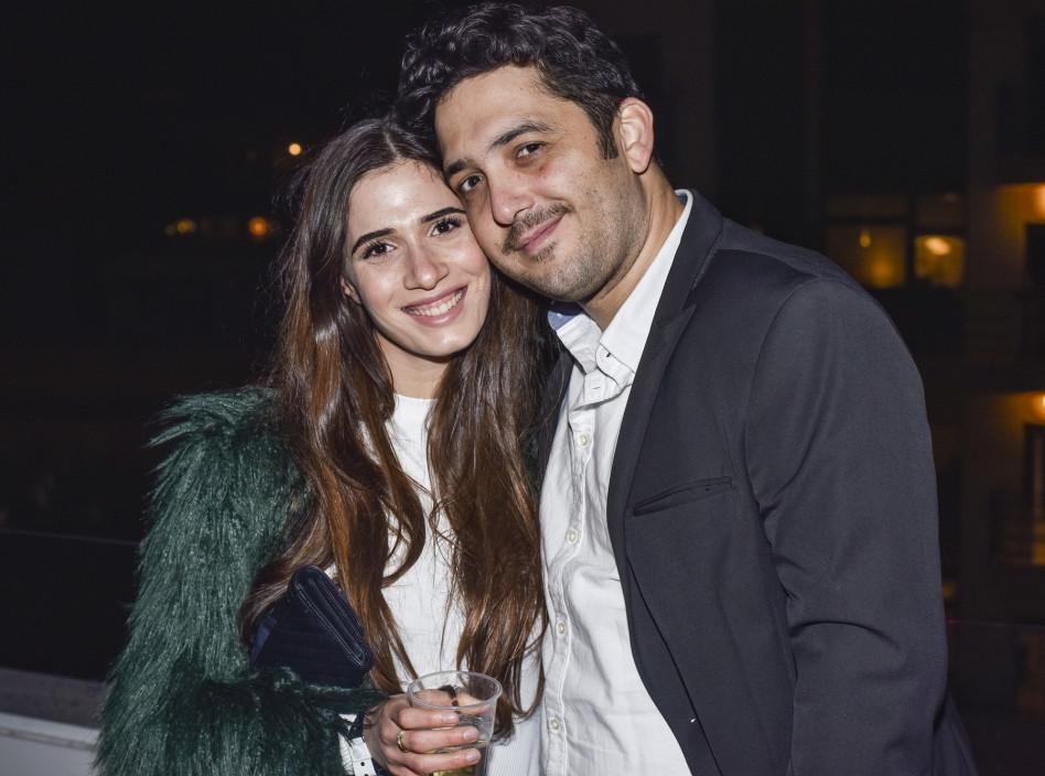 חן אמסלם ומאור זגורי (צילום: עומרי שפירא)