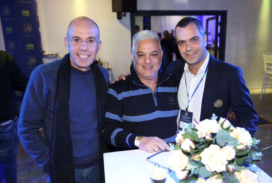 טל בריקמן, אבשלום נוריאל ואבי מויאל (צילום: אלירן אביטל)