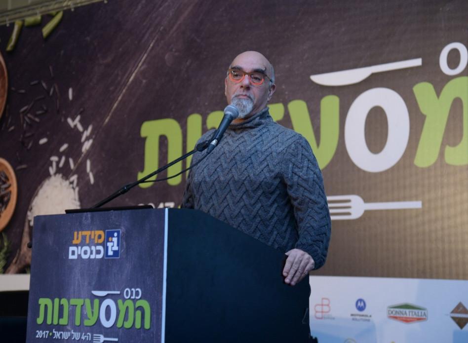 ישראל אהרוני (צילום: ליאת מנדל)