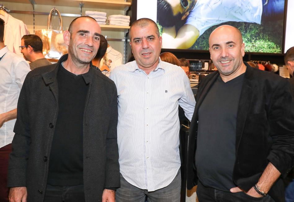 סרג' דרעי, יוסי אזריאל ומישל תמיר (צילום: רפי דלויה)