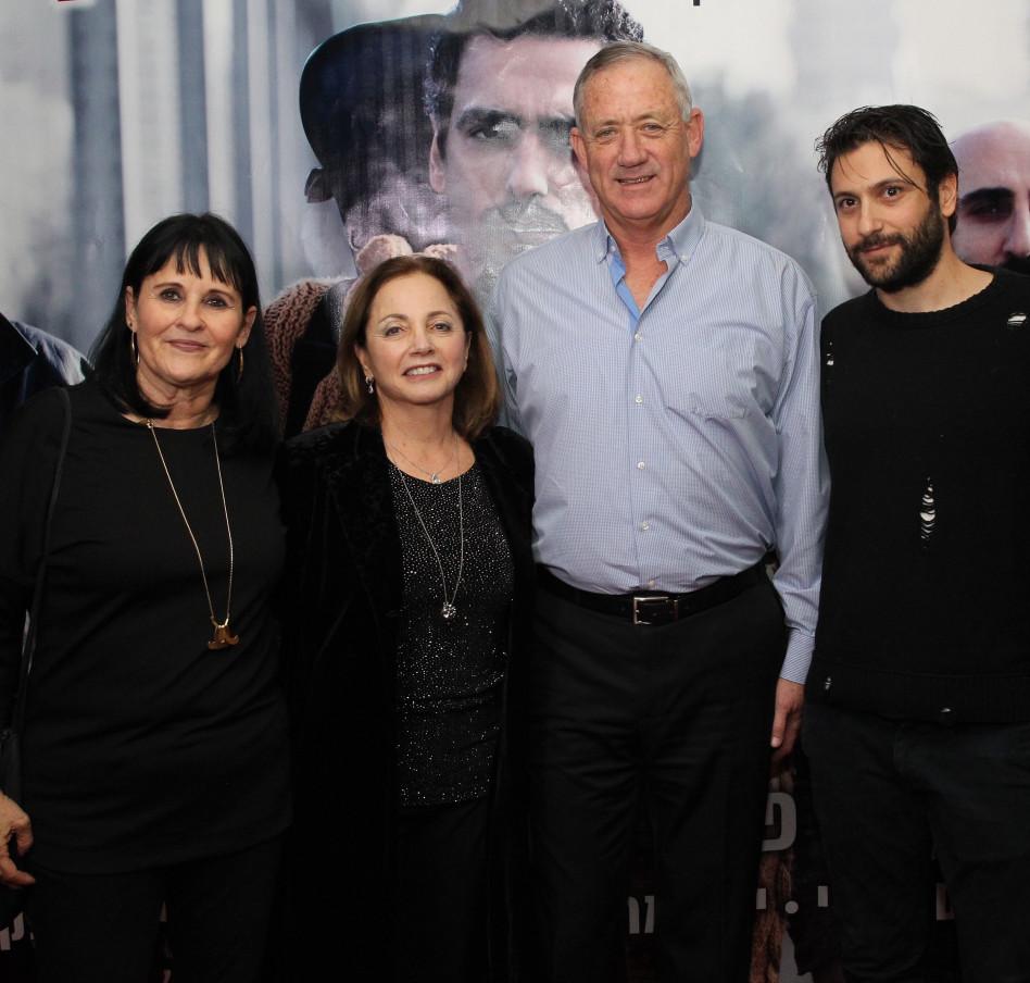 נוני גפני, בני גנץ, יהודית יובל קרנאטי ואורלי גל (צילום: רפי דלויה)
