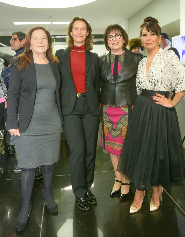 אוולין הגואל, נילי ברק- פריאל, ברברה שוסניק ויפית גרינברג