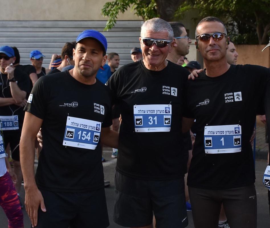 יהודה בן אסאייג, לירז יעקב ומאיר דלומי (צילום: אביב חופי)