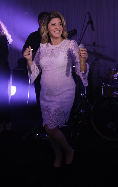 למי שעוד היה ספק, היא בהריון!