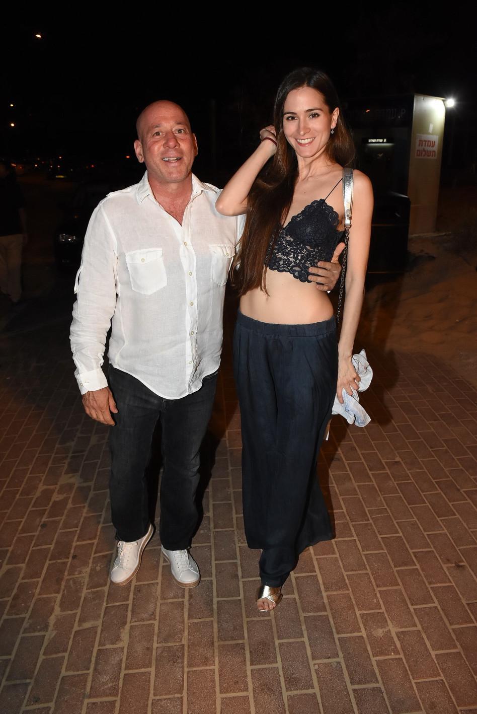 ג׳ורג׳י אקירוב ובת זוגו