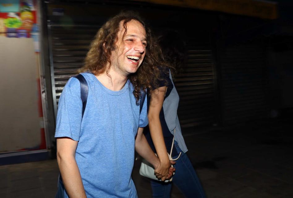 זה לא שיכור? אמיר חצרוני ושירין נופי (צילום: אמיר מאירי)