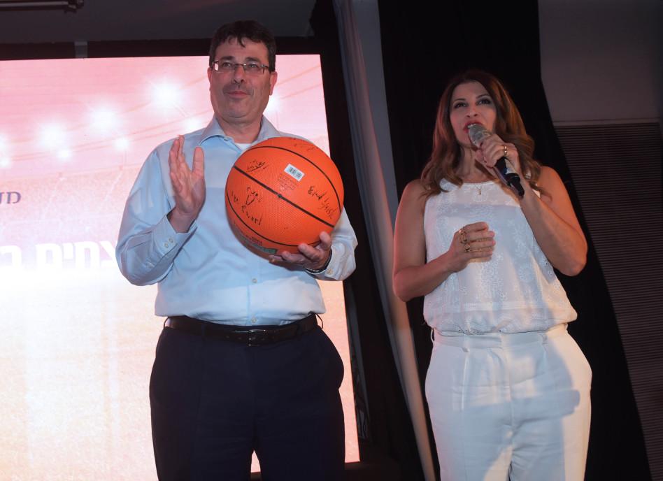 מירי נבו ואלדד פרשר (צילום: אבשלום ששוני)