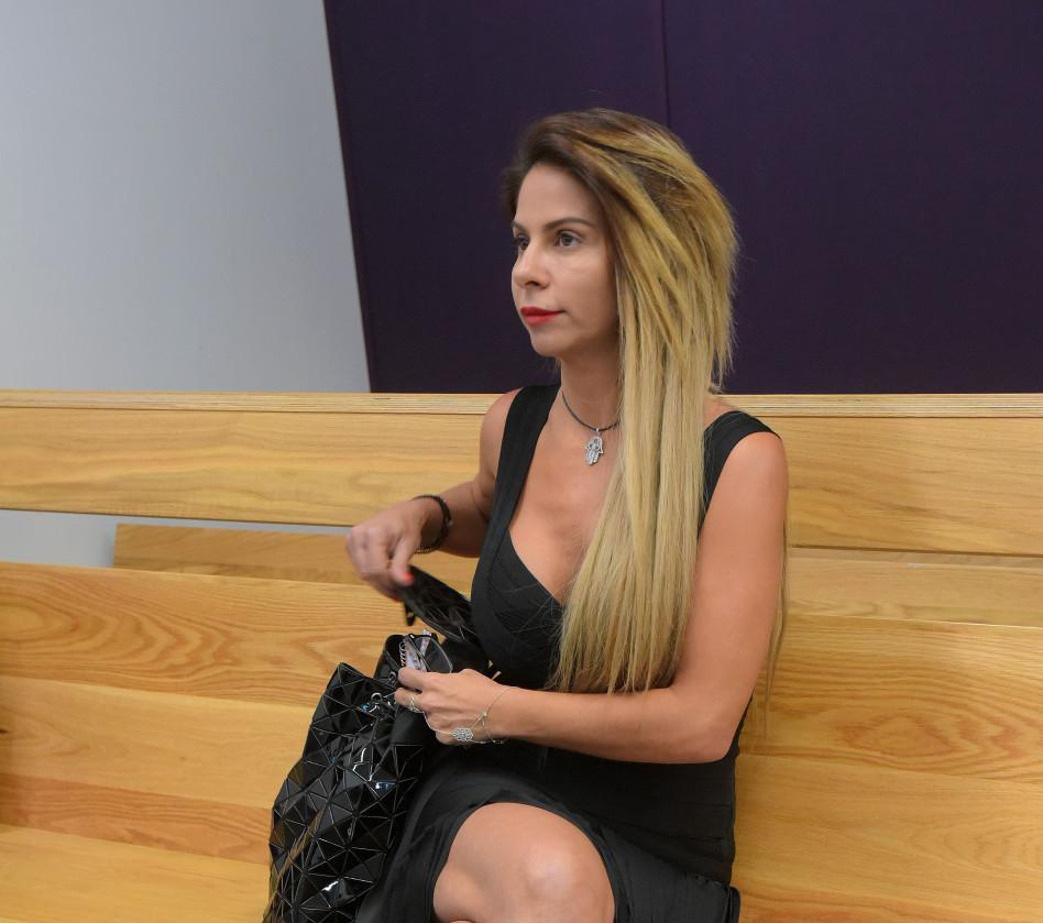 ענבל אור בבית המשפט (צילום: אבשלום ששוני)