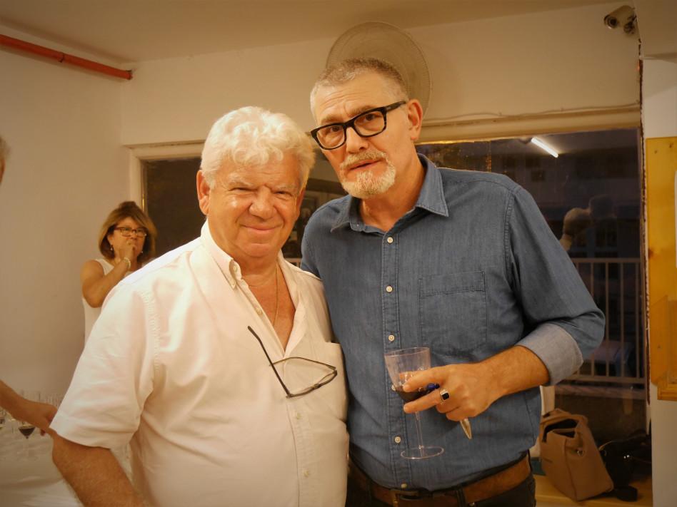 ארתור קוגן ואלכס לנדסברג (צילום: נעמה פורת)