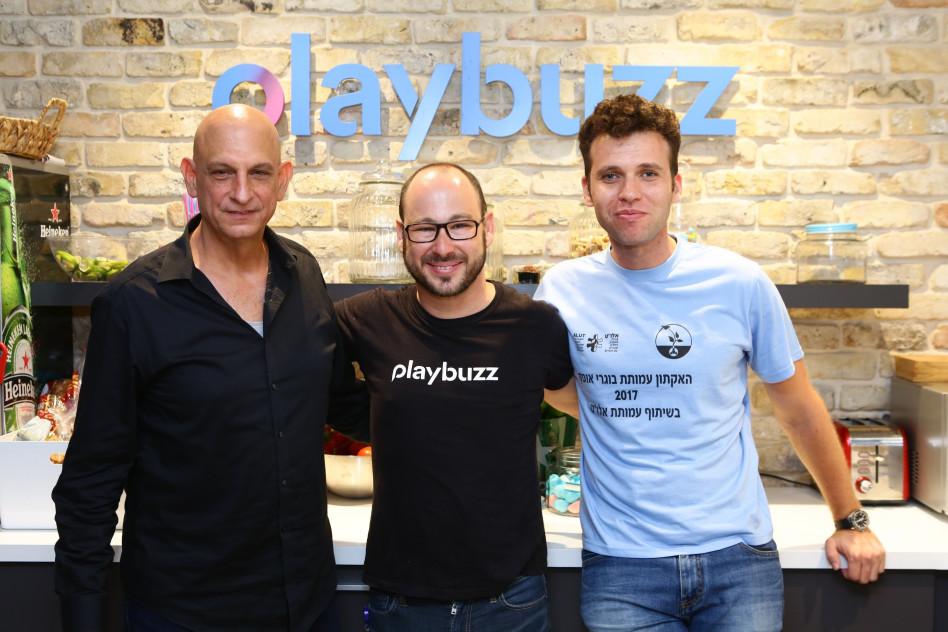 ארקדי גורביץ' , ניר ויסבורט ואהרון אהרון  (צילום: דרור סיתהכול)