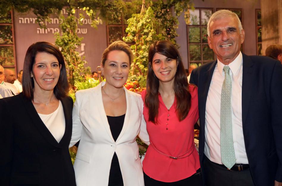 יוסי בכר, קירה רדינסקי, לילך אשר-טופילסקי ואורית אלסטר (צילום: סיון פרג')