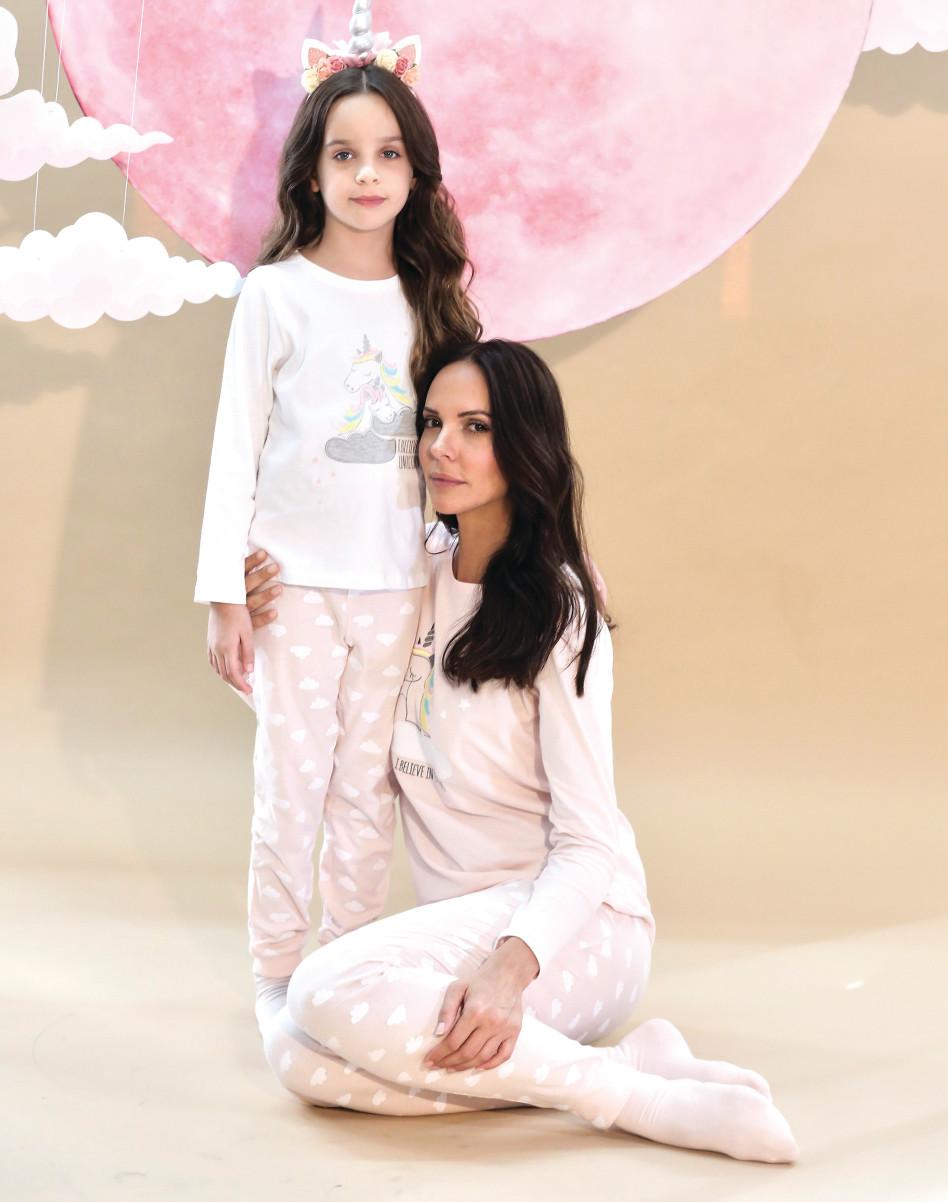 """רוית אסף ובתה ליה בקמפיין של רשת """"אפרודיטה"""" (צילום: אלירן אביטל)"""