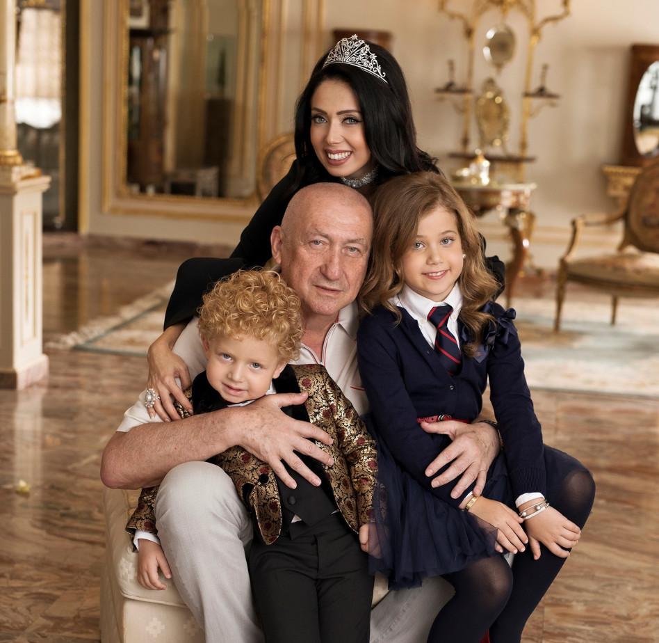 ראידמן, צ'רנוי והילדים מישל וריצ'י |(צילום: אלכס ליפקין)