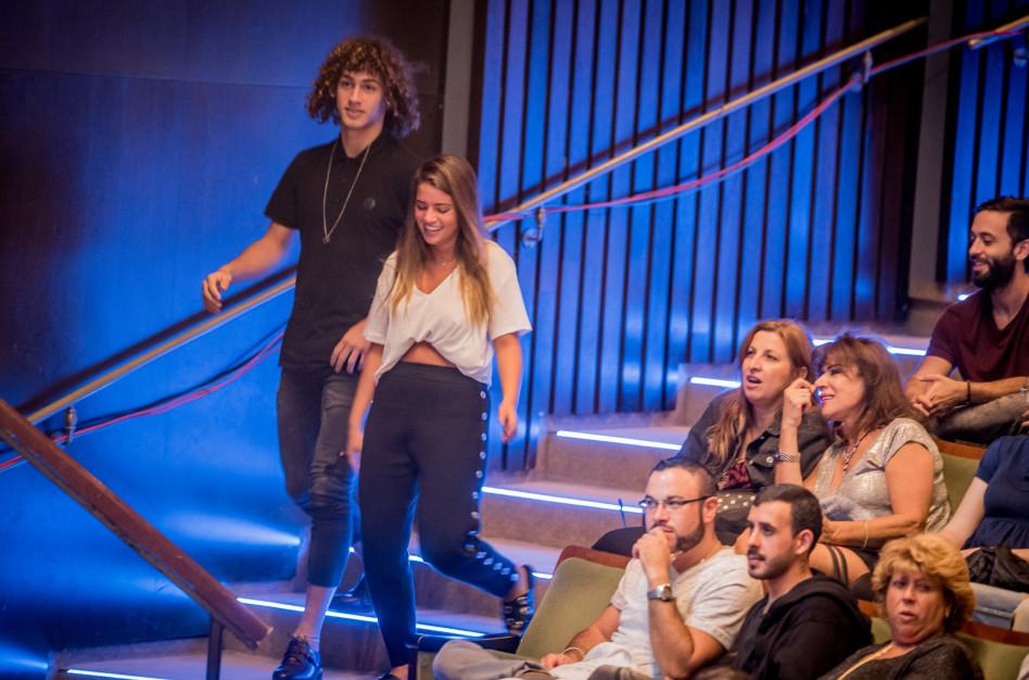 הכי אהובים בישראל. נועה קירל וברק שמיר מלהיבים את הקהל (צילום: איתי פולק)