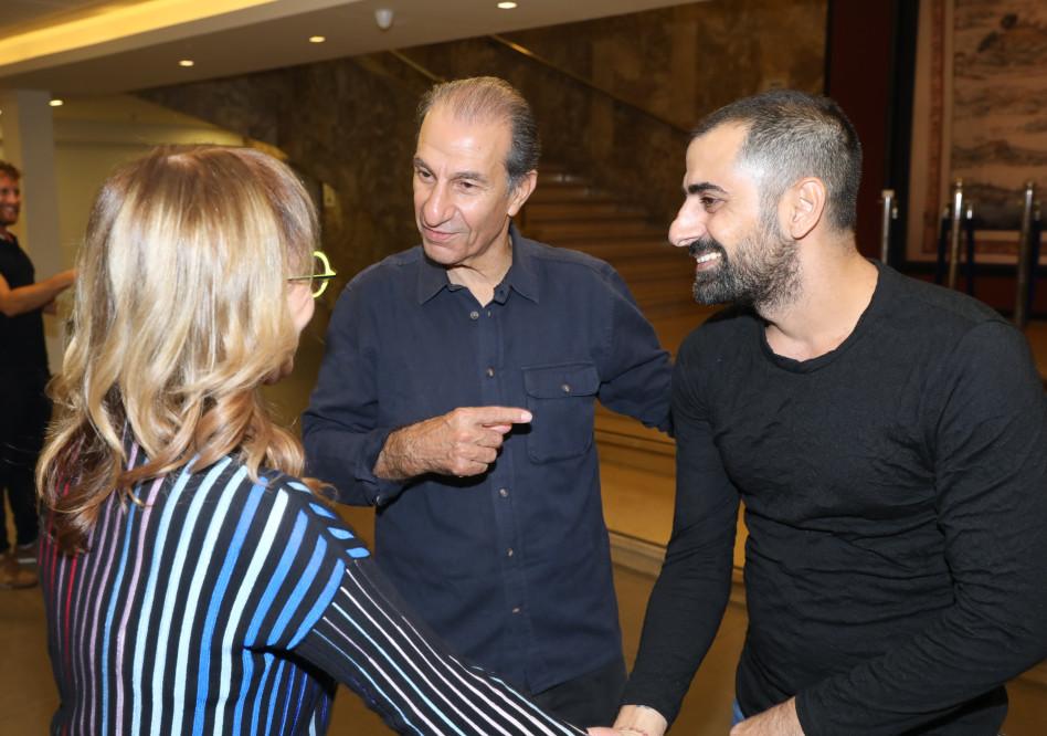 פולישוק פולישוק פולישוק!! ששון גבאי ואסי ישראלוף (צילום: רפי דלויה)