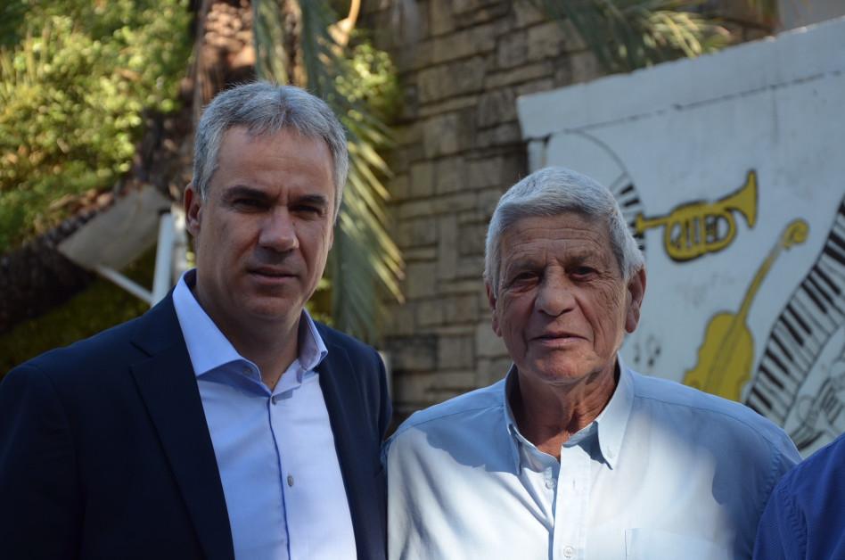מוטי דותן ואבי גנון (צילום: רועי ווסט)