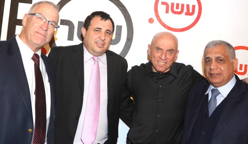 פיני כהן, יוסי ורשבסקי, נועז בר ניר וערן הלפרן (צילום: סיון פרג')