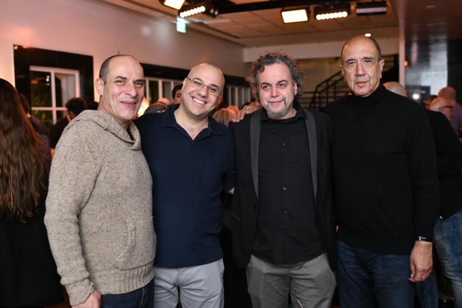 רוני סומק, דניאל סלומון, חן בכר וליאור שמואל (צילום: יוסי נמר)
