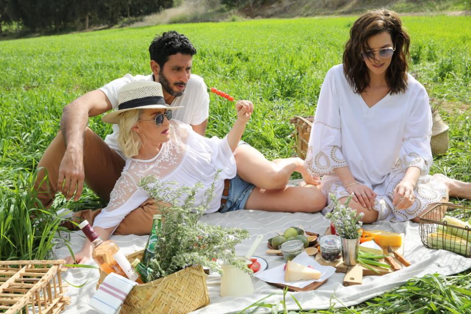 יעל גולדמן, מיה דגן וצחי הלוי (צילום: לנס הפקות)