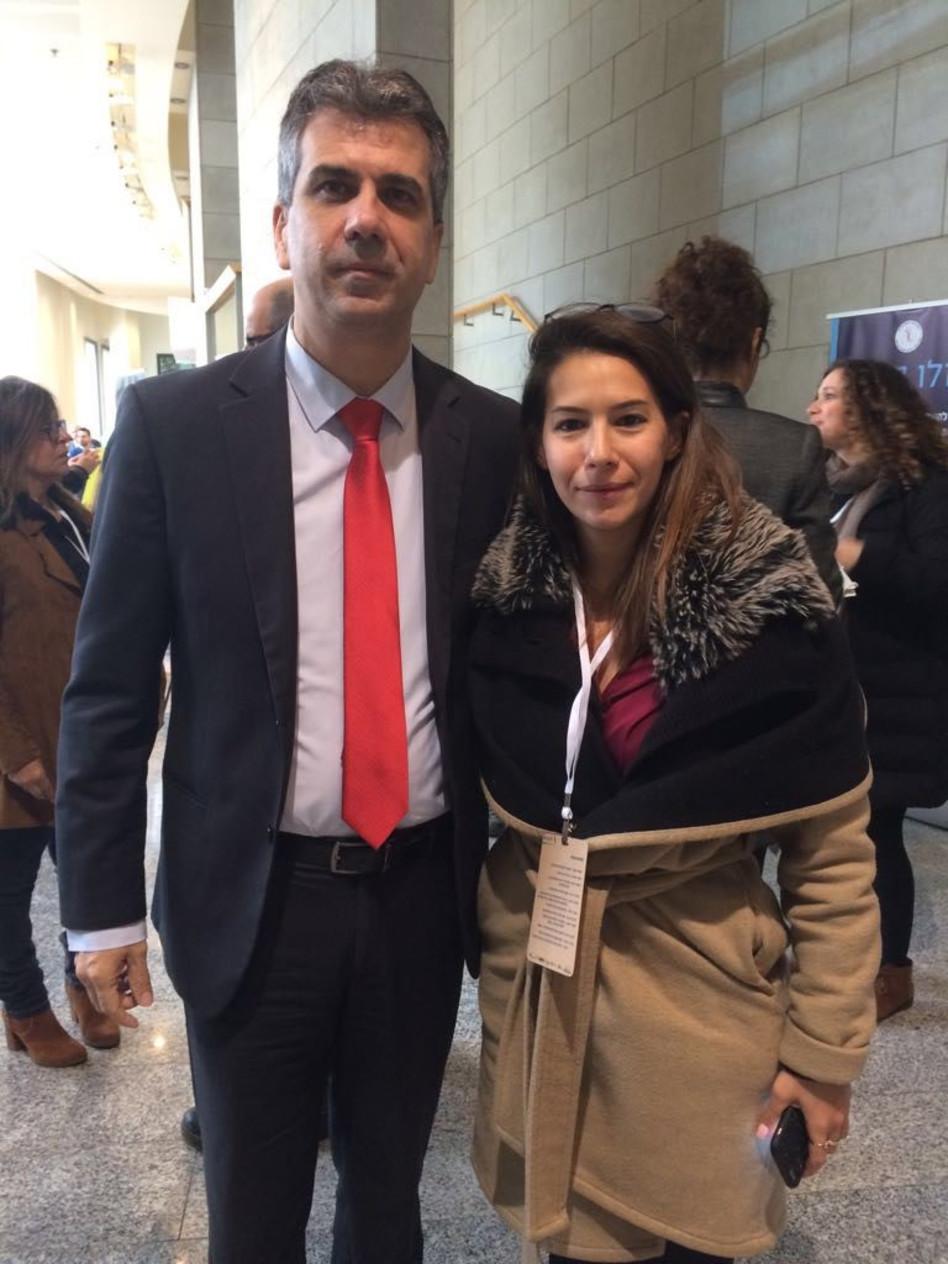 מאיה כץ ואלי כהן (צילום: שרון מלכי)
