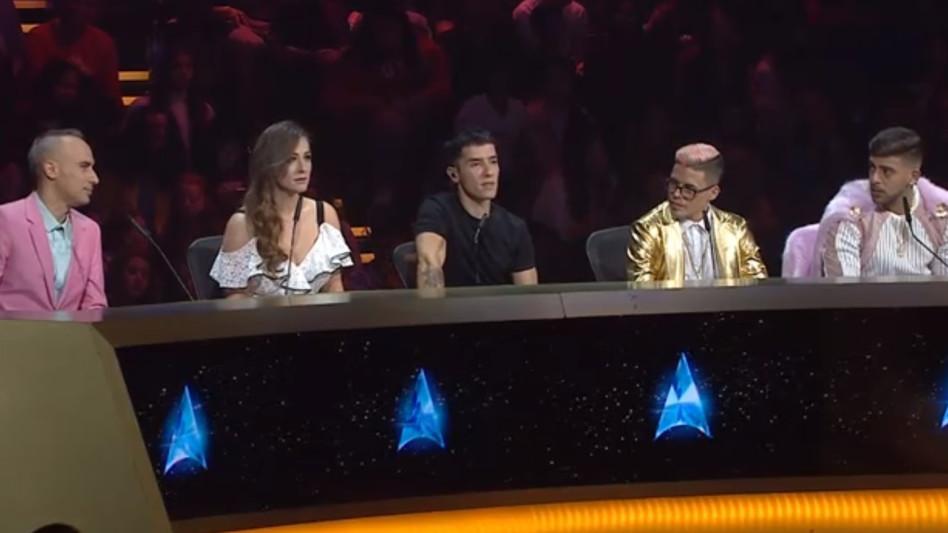 השופטים (צילום מסך))