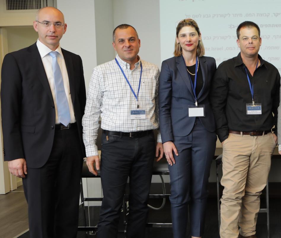 מאיר אקוניס, דינה פסקא, דורון סדן ונדב ויסמן  (צילום: מקסים גולובנוב)