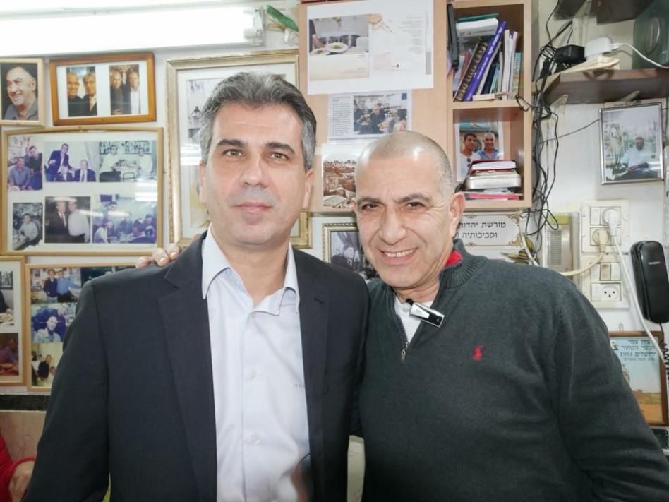 מאיר מיכה ואלי כהן (צילום: פייסובק אילן בן הרוש)