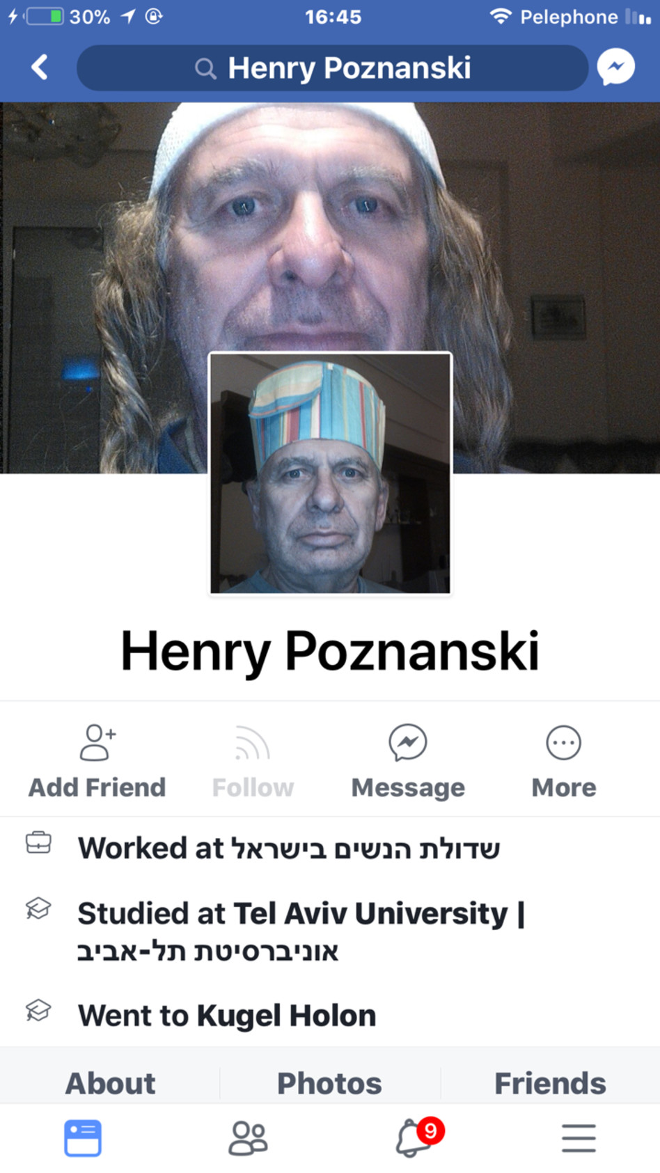 הנרי פוזננסקי (צילום מסך)