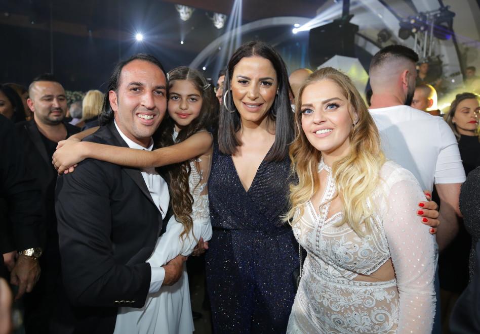 אליקו ומיטל כהן, נסרין קדרי והבת אלין (צילום: פריים טיים)