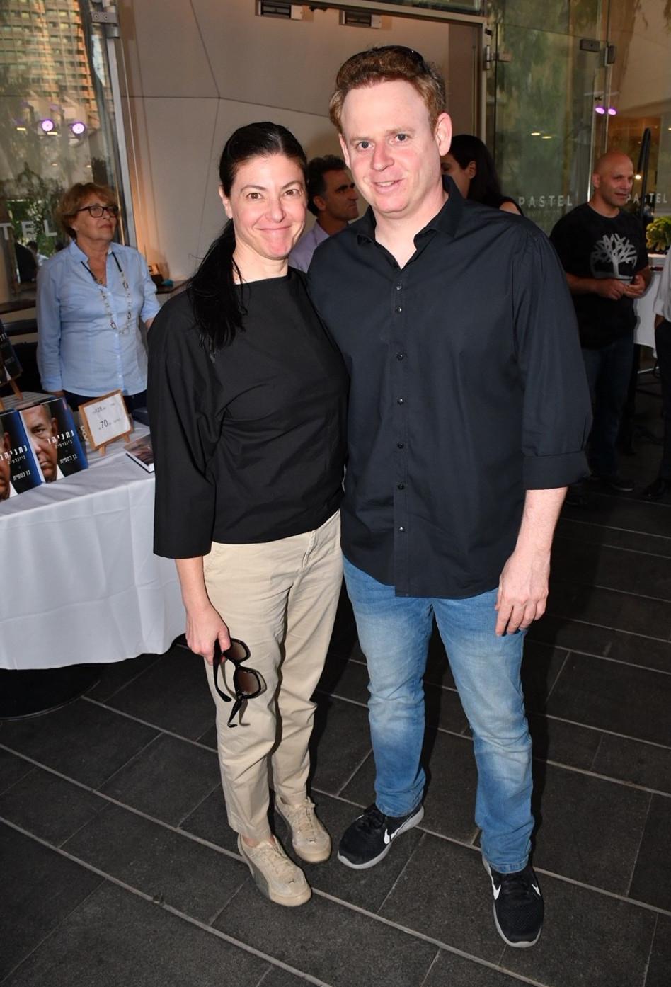 ליאור שליין ומירב מיכאלי (צילום: אביב חופי)