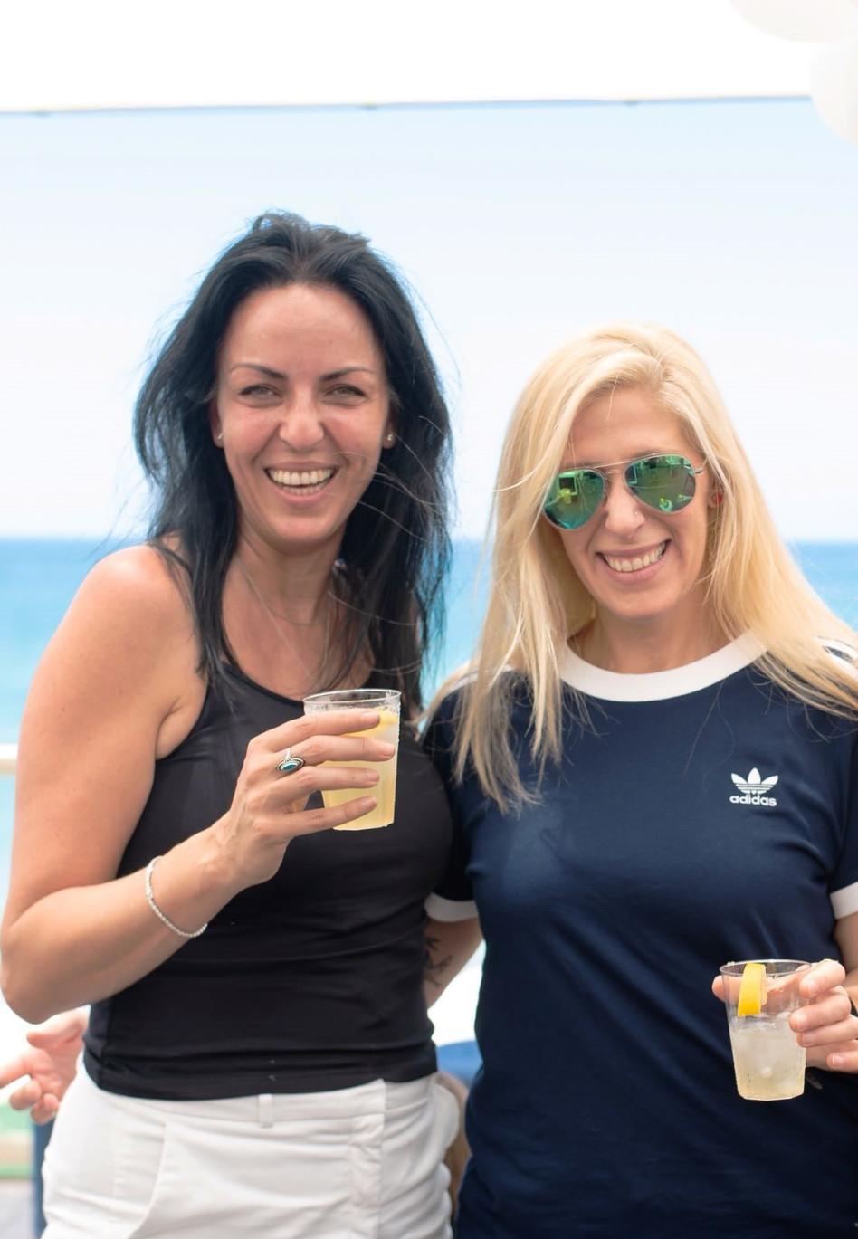 מיכל גרונלנד ורונית אבנר (צילום: אמיר יעקבי)