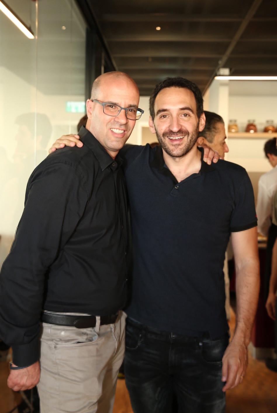 שאול אולמרט ואדם צ'זנוף