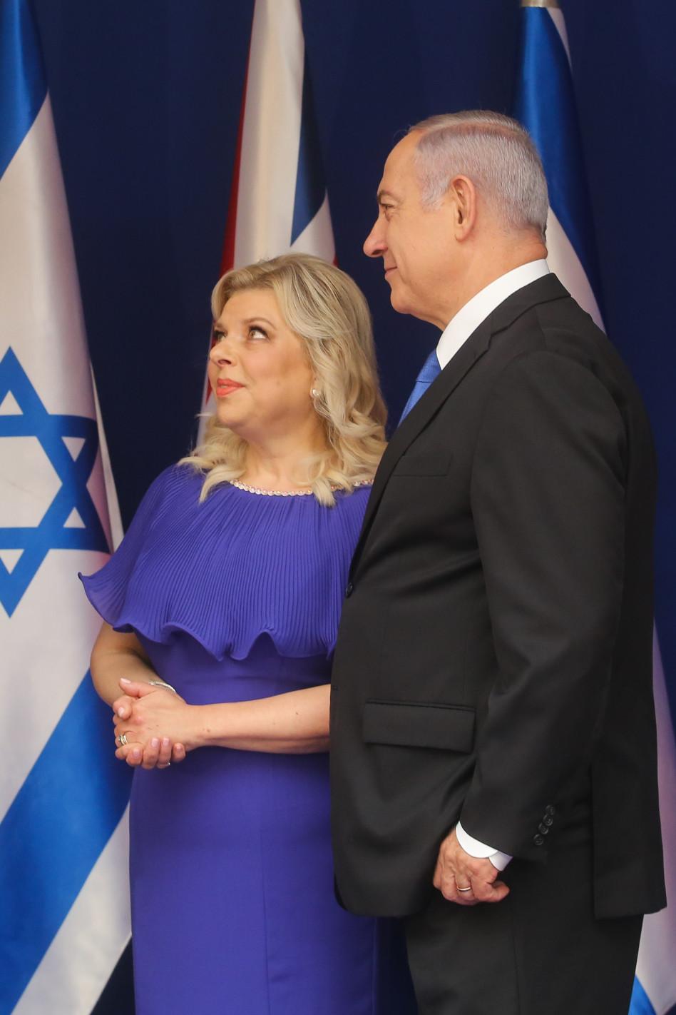 שרה ובנימין (צילום: מרק ישראל סלם)
