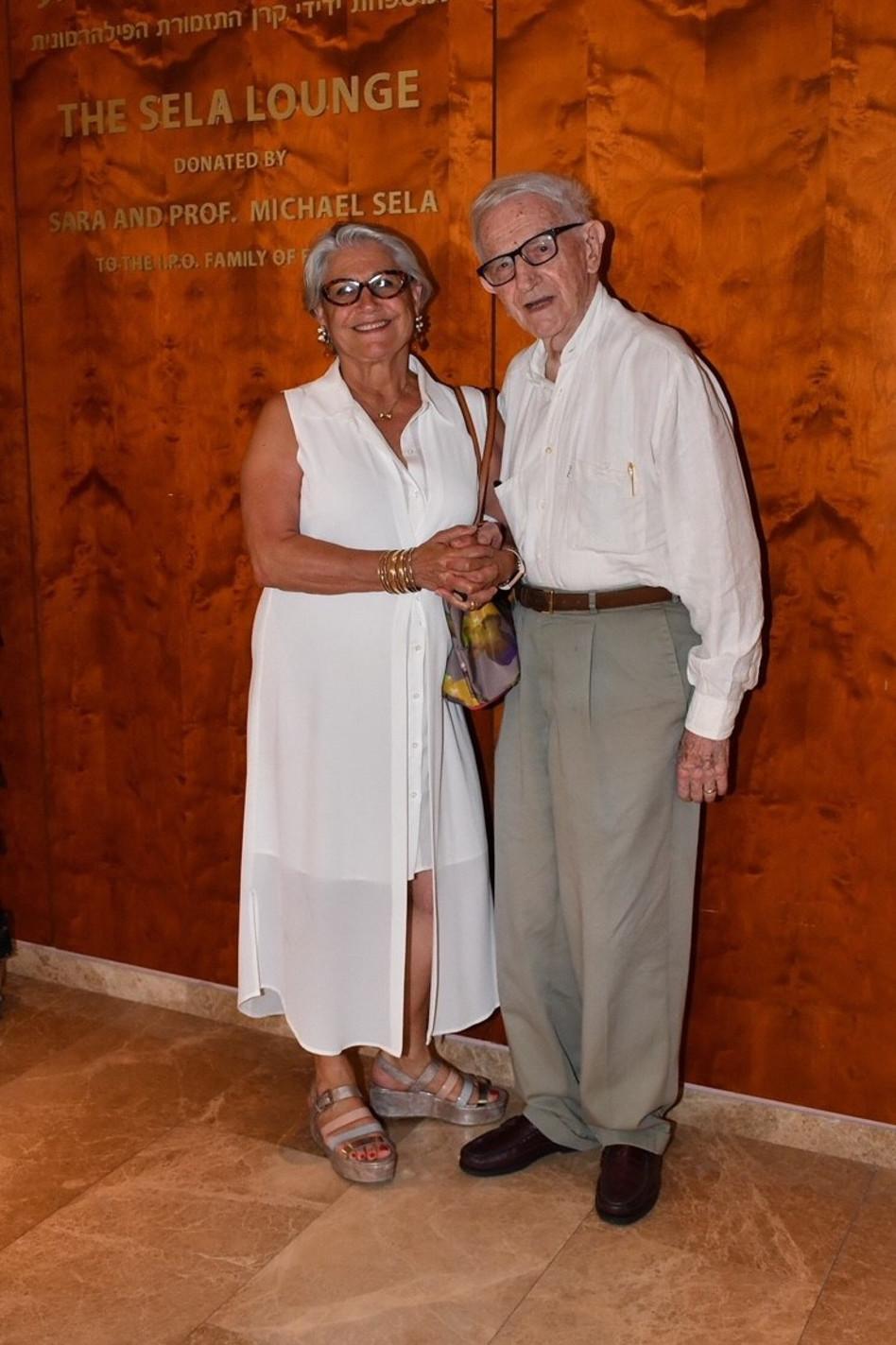 מיכאל ושרה סלע (צילומים: אביב חופי)