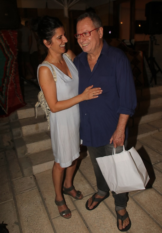 שלמה בראבא ואשתו שמר גאון