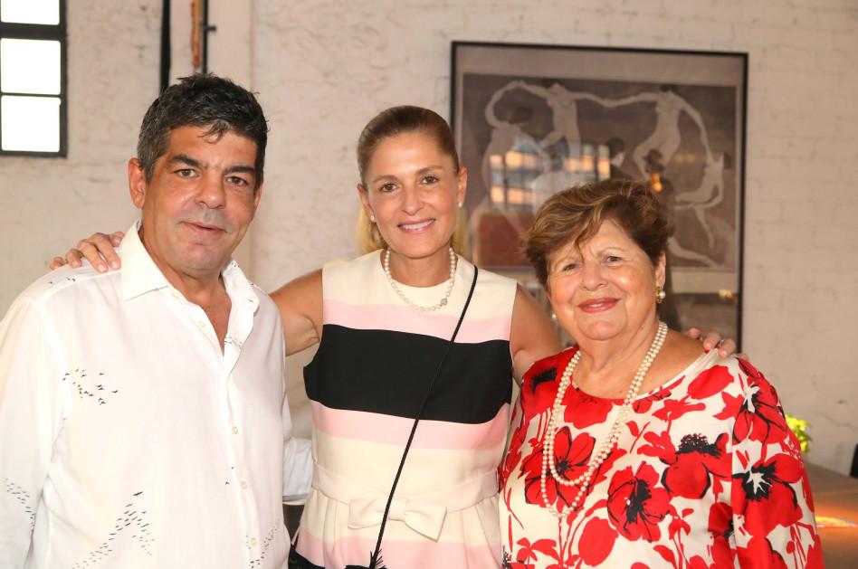 לינה קסטרו, אתי רוטר ואבי קסטרו (צילום: סיון פרג')