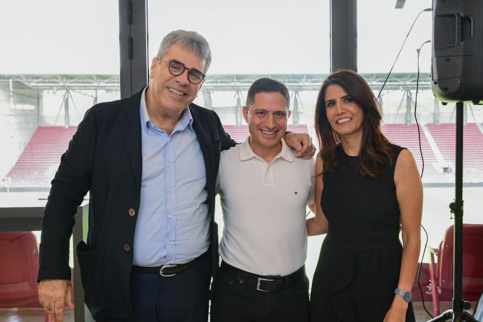 אלונה ברקת, רוביק דנילוביץ' ומשה ממרוד (צילום: ליאור מוסקוביץ')