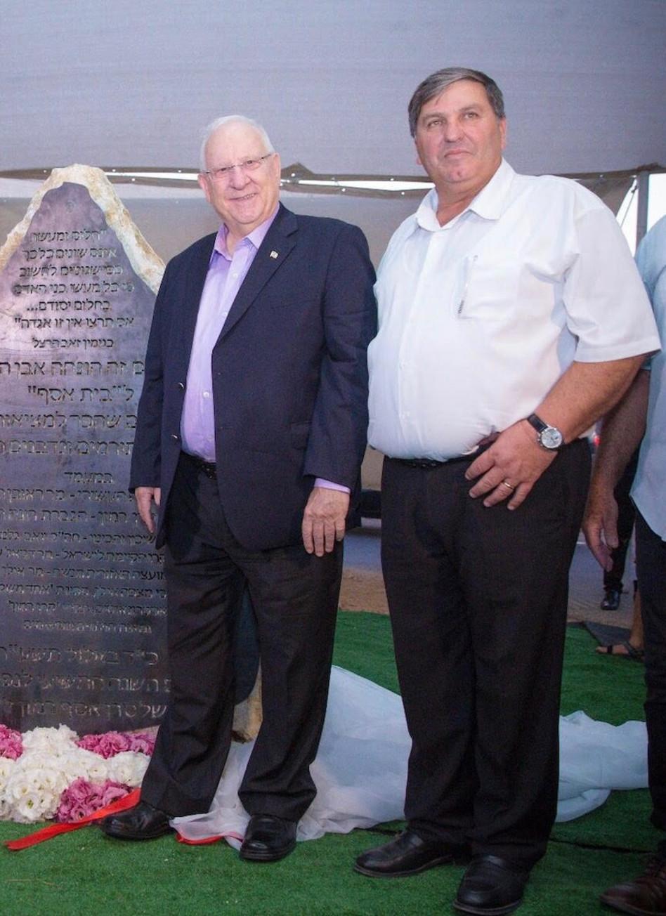 דניאל עטר וראובן ריבלין (צילום: אלעד מלכה)