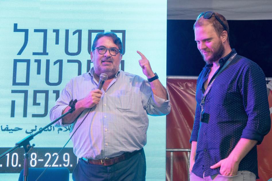 גלעד אמיליו-שנקר וגדעון תדמור  (צילום: ברק בראון)