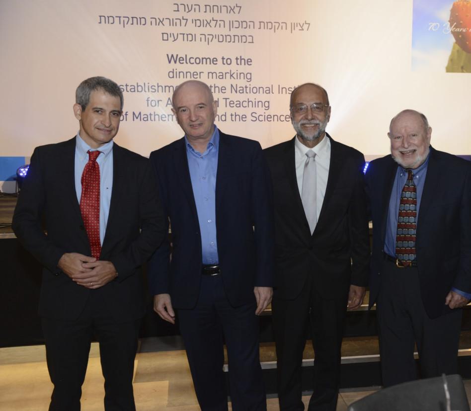 לי שולמן, ישראל בר יוסף, דניאל זייפמן ואלי הורביץ (צילום: איתי בלסון)
