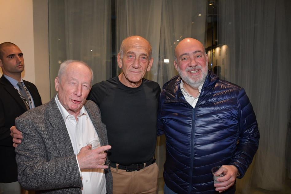 רון פרושאור, אהוד אולמרט ויהודה וינשטיין