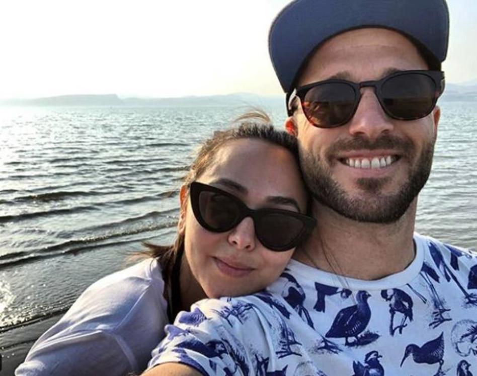 הזוג המאושר יונתן רונן ואחווה סיטבון (צילום: אינסטגרם)