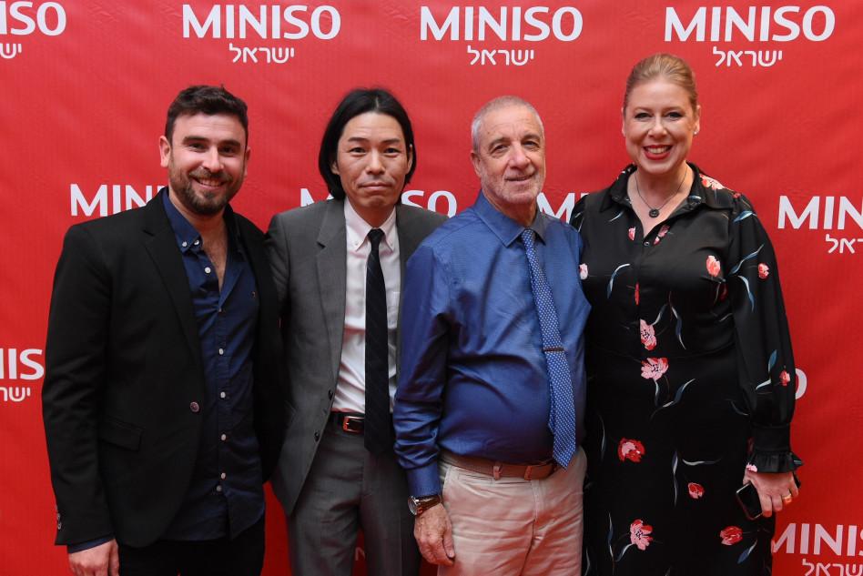 עינת פורטוגלי, יורם פיק, ג׳וניה מיאקי וגונן כהן (צילום: goldpro76)