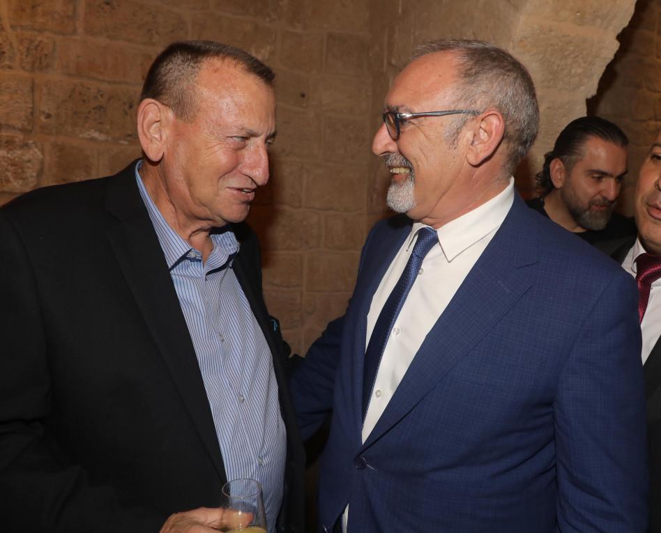 רוג'ה אטיאס ורון חולדאי (צילומים: דנה קופל)