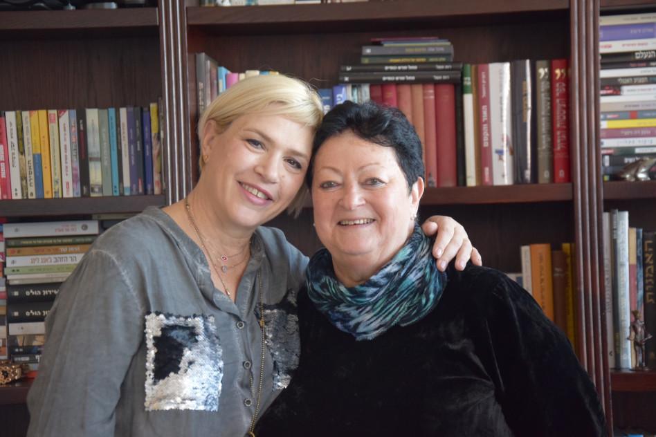 זיוה לוריא ומיכל אקסלרוד (צילום: ענבל וייס)