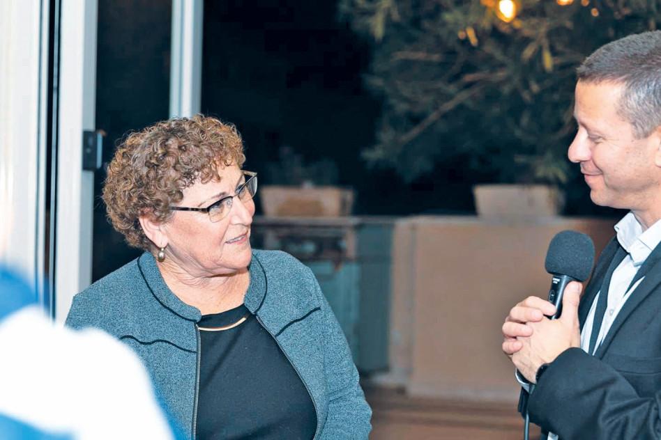רון צור ומרים פרץ (צילום: לירן עמר)